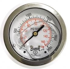 Manometro (PFQ910R1R11S1 escala: 160BAR 2300PSI)